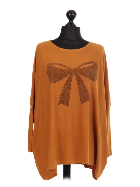 Bow Motif Jumper