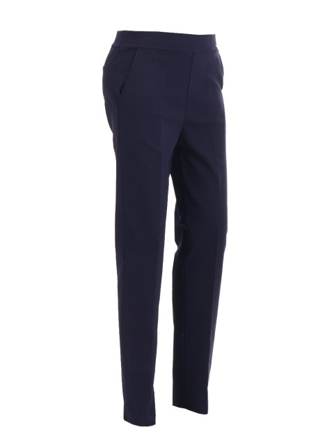 Italian Stretch Peg Leg Smart Trousers