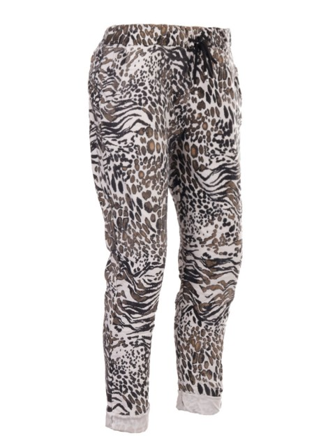 Italian Animal Print Magic Pants