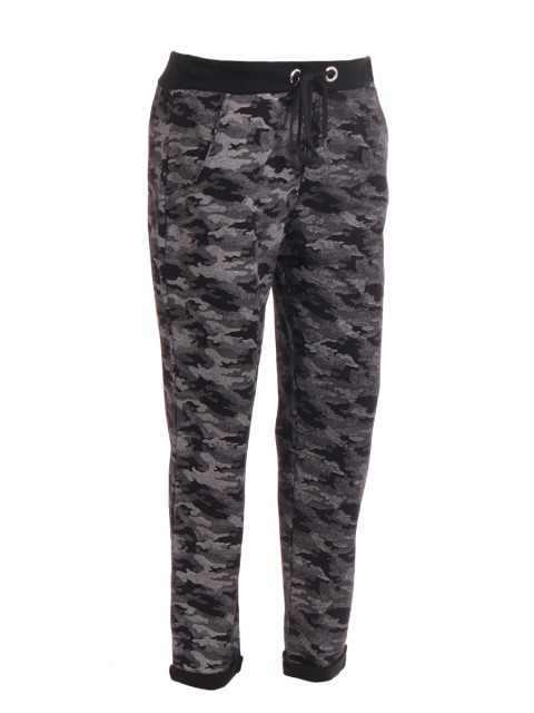 Italian Camouflage Cotton Trouser