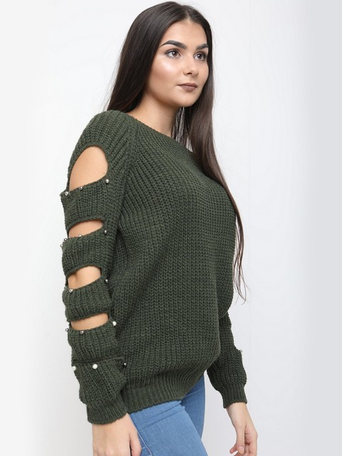 Italian - Katy ladder sleeve jumper