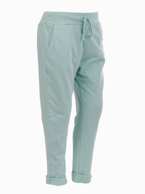 Italian Plain Cotton Trouser