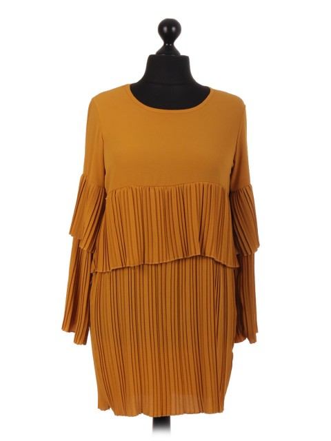 Italian Pleated Top