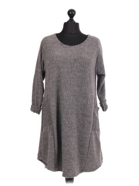 Italian Tunic Dress With Side Pockets