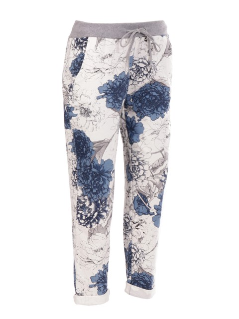 Made in Italy Floral Trouser
