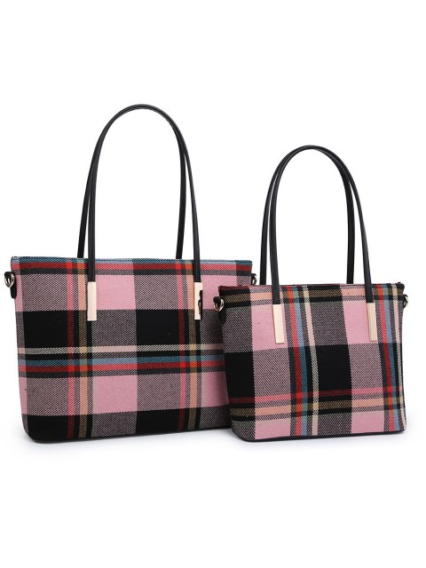Tweed Tartan Hand Bag