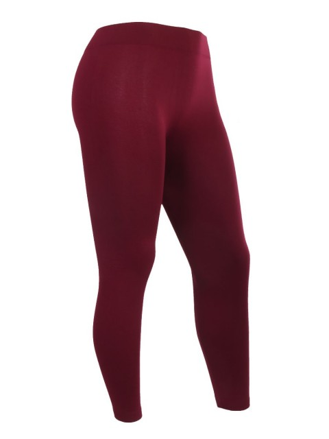 Plus Size Fleece Lined Seamless Warm Leggings