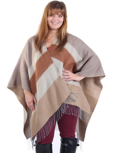 Woollen stripe Cape Brown
