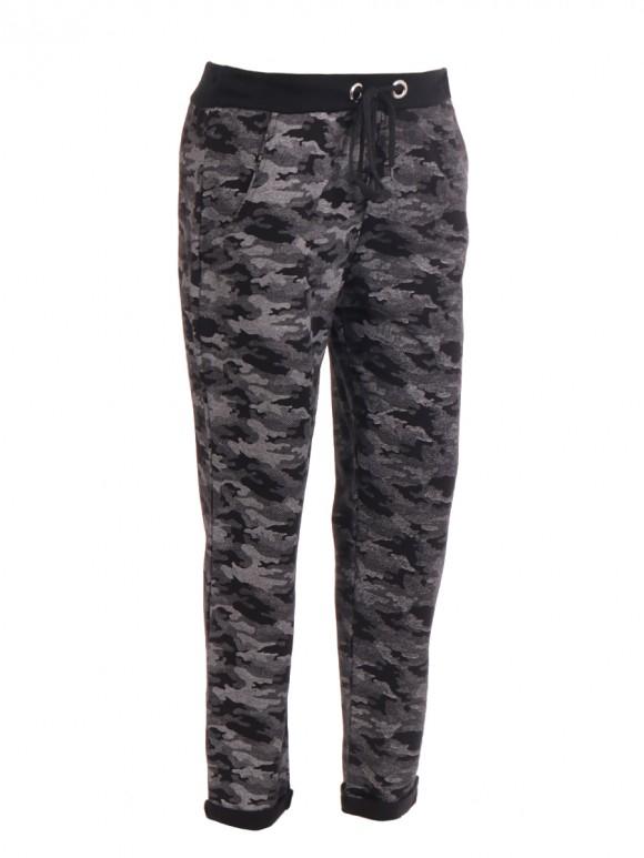 Italian Camouflage Cotton Trouser