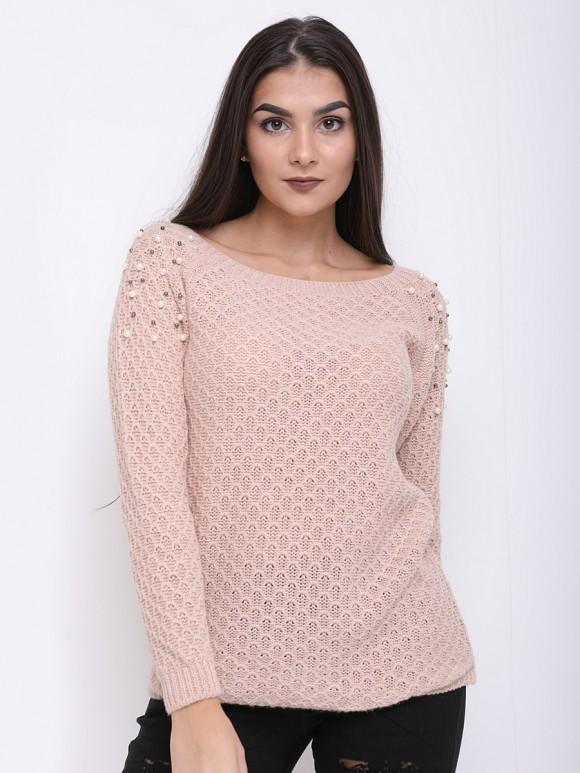 Pearl shoulder jumper
