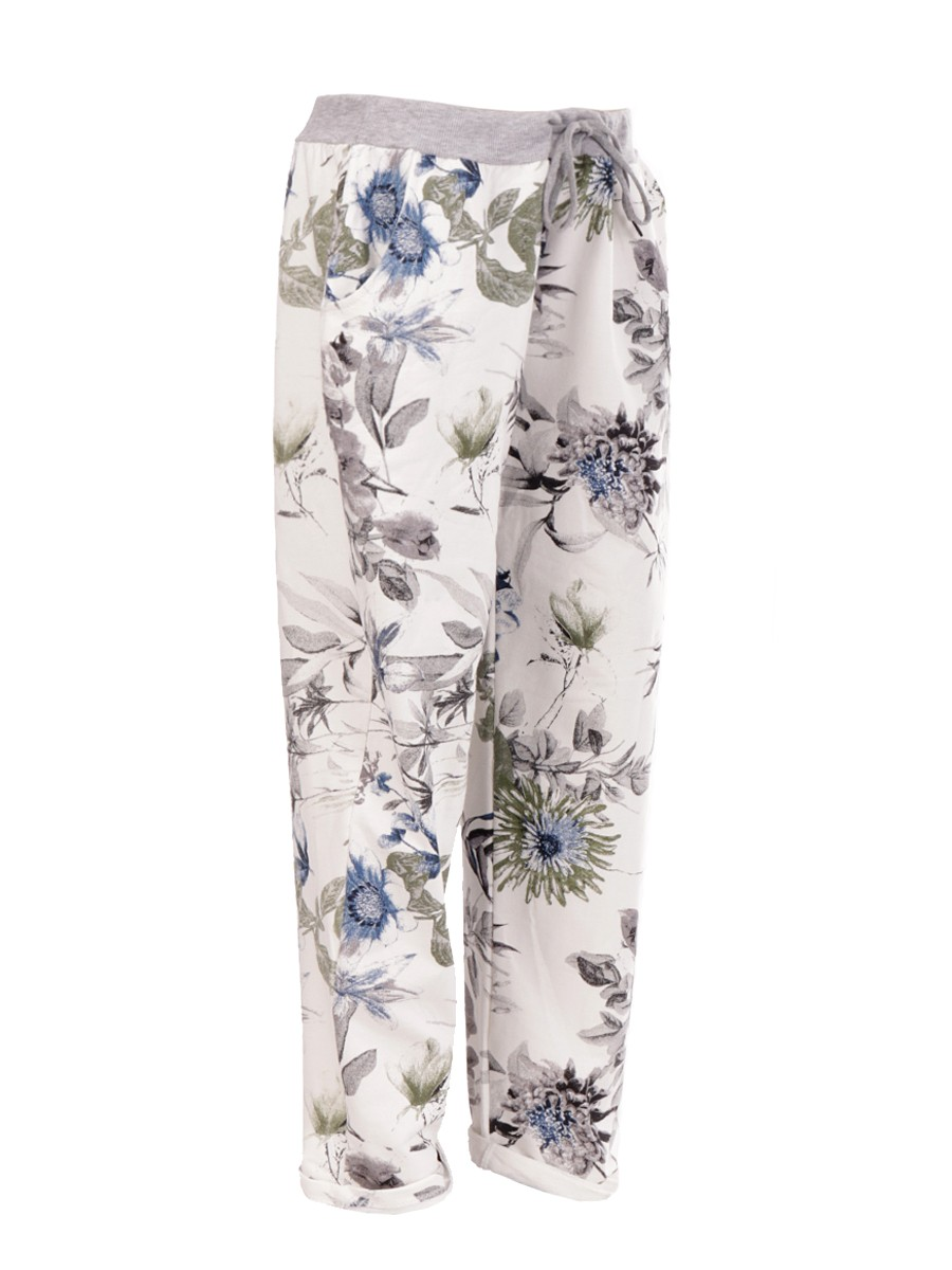 3b177a1c8c1f3 Wholesale Plus Size Made In Italy Printed Trousers