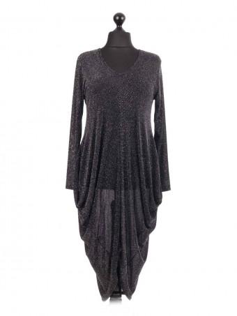 Glittery Tulip Style Dress