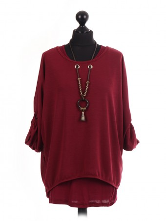 Italian 2 Piece Top With Necklace