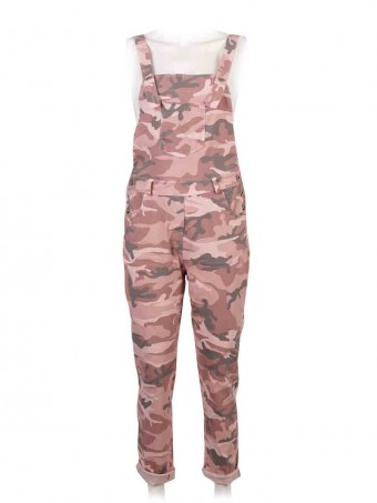 Italian Camouflage Print Magic Dungaree
