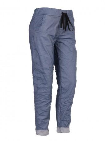 Plus Size Italian Chambray Magic Pants