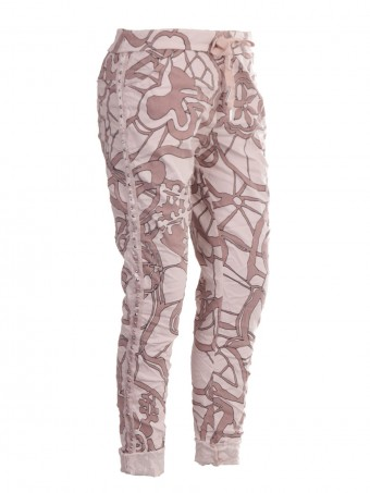 Italian Diamante Side Panel Magic Pants