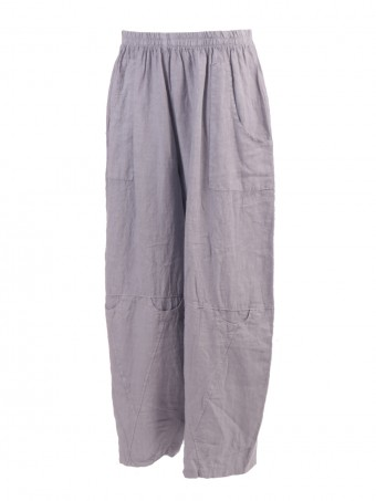 Made In Italy Pocket Linen Trouser
