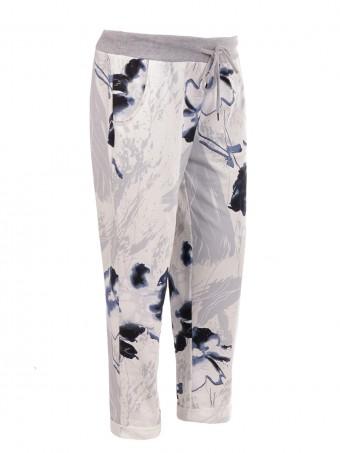 Italian Cotton Printed Trouser