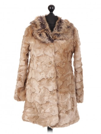 Italian Soft Fur Coat