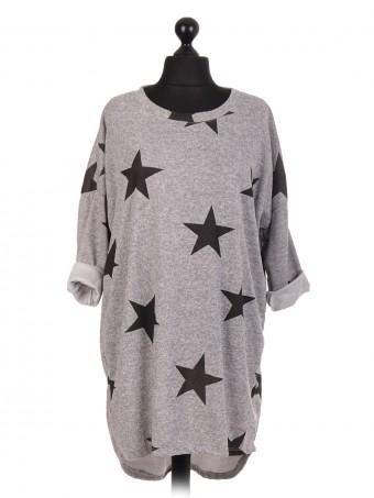 Italian Star Print Lagenlook Tunic