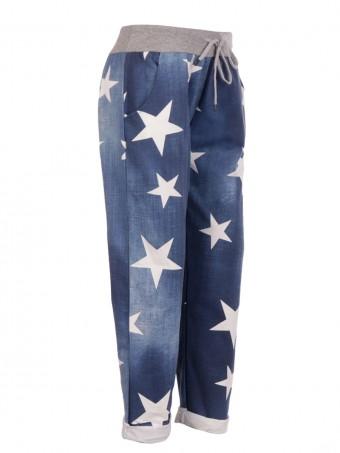 Italian Star Print Trouser