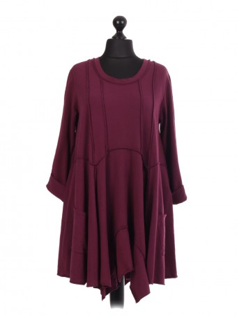 Italian Swing Dress With Front Pockets