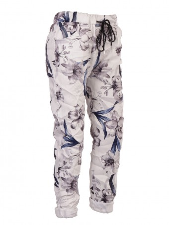 Italian Tulip Print Stretchable Trouser