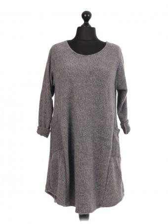 Italian Tunic Dress With Side Pockets