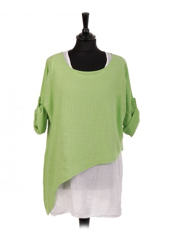 Italian Two Layered Cotton Top