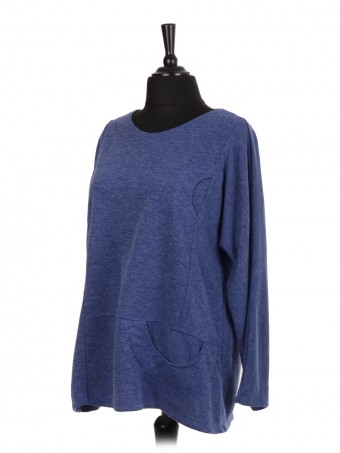 Italian Wool Mix Plain Top