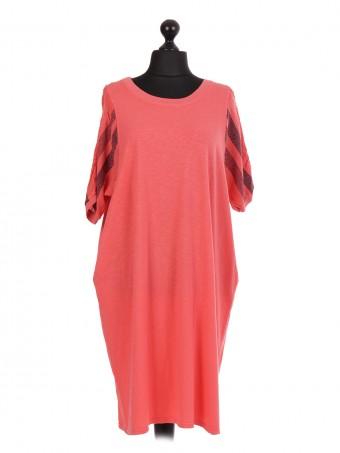 Italian Short Sleeve T-Shirt Dress