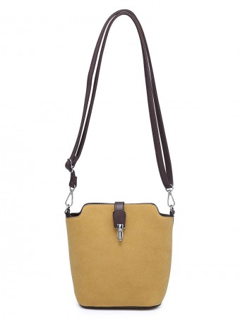 Small Cross Body Bag With Zip Fastening